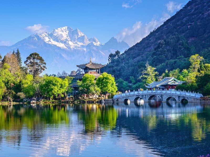 jade spring park yunnan province china
