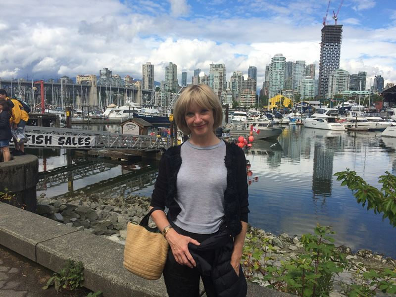 Jane Horrocks visiting Vancouver