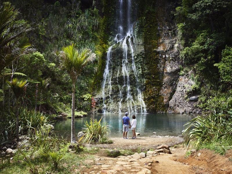 karekare waterfall auckland