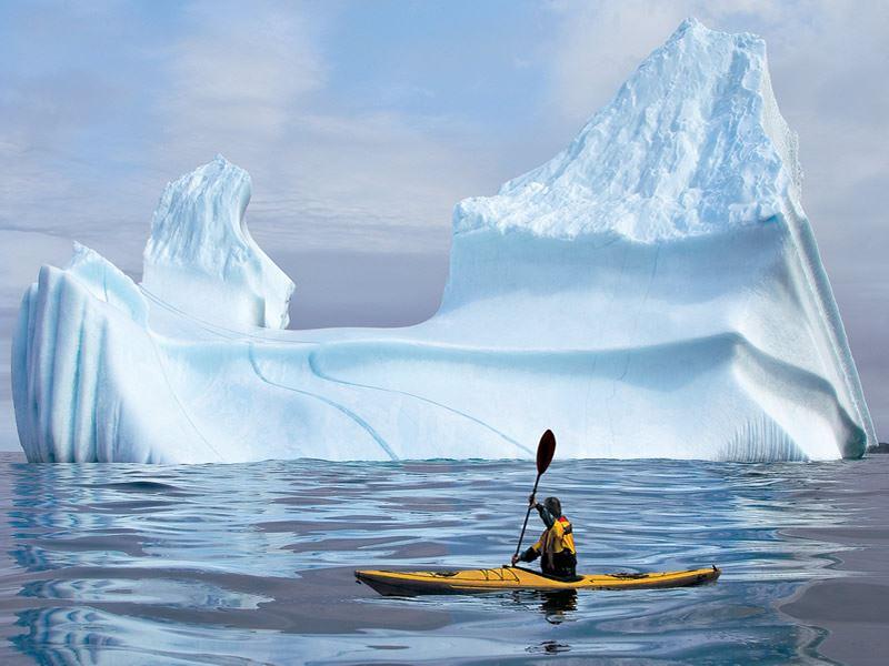 labrador kayaking icebergs