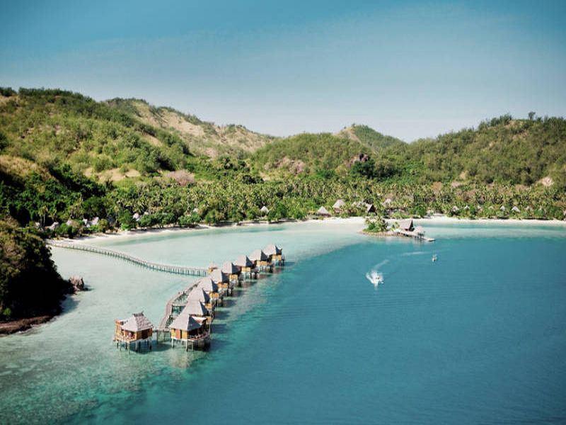 likuliku lagoon resort aerial