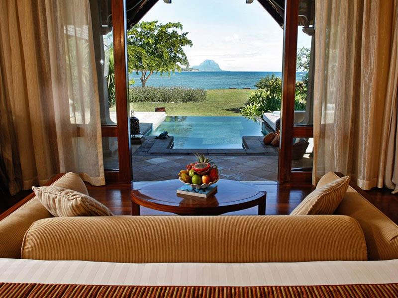 maradiva beachfront luxury suite pool villa