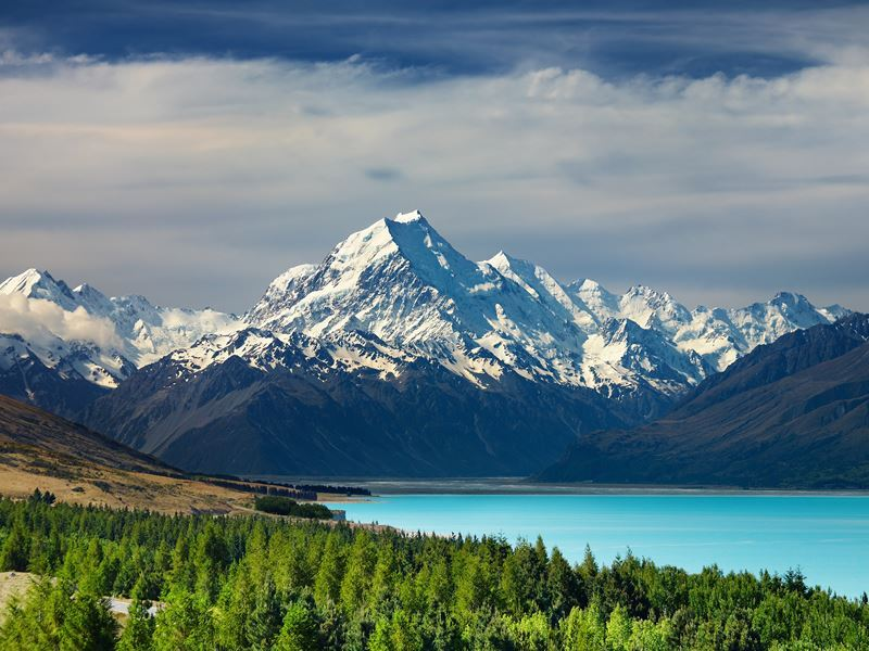 mount cook lake pukaki