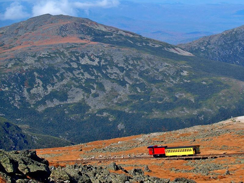mount washington cog railway white mountains nh
