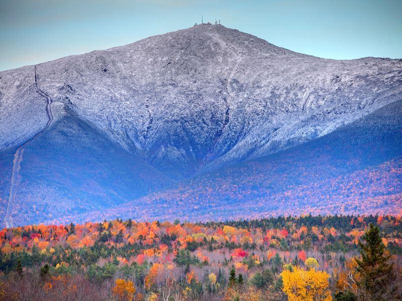 mount washington in white mountains