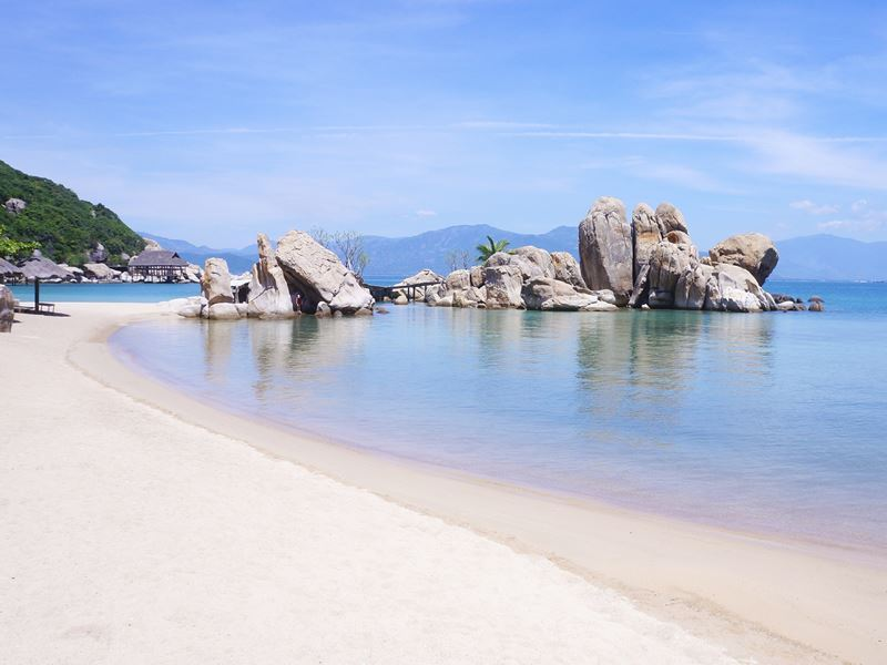 nha trang on the beach vietnam