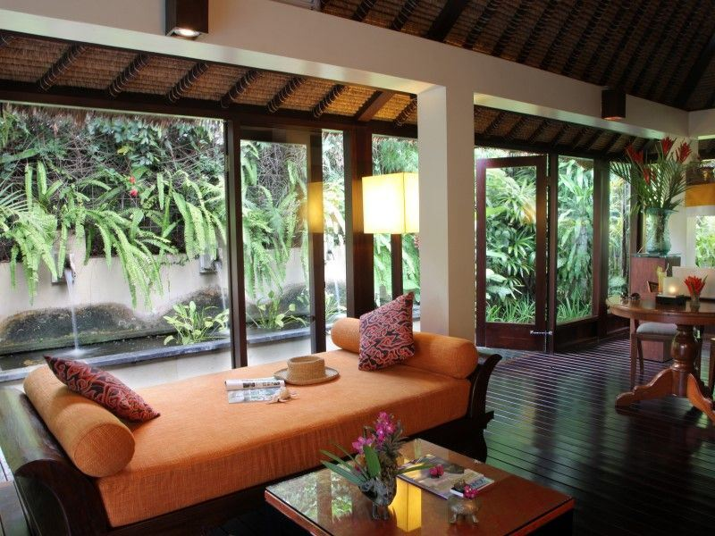 one bedroom pool villa   livingroom the pavilions bali