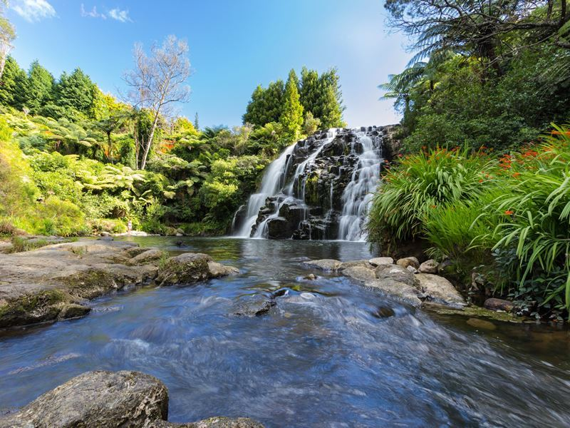 owharoa falls karangahake gorge coromandel