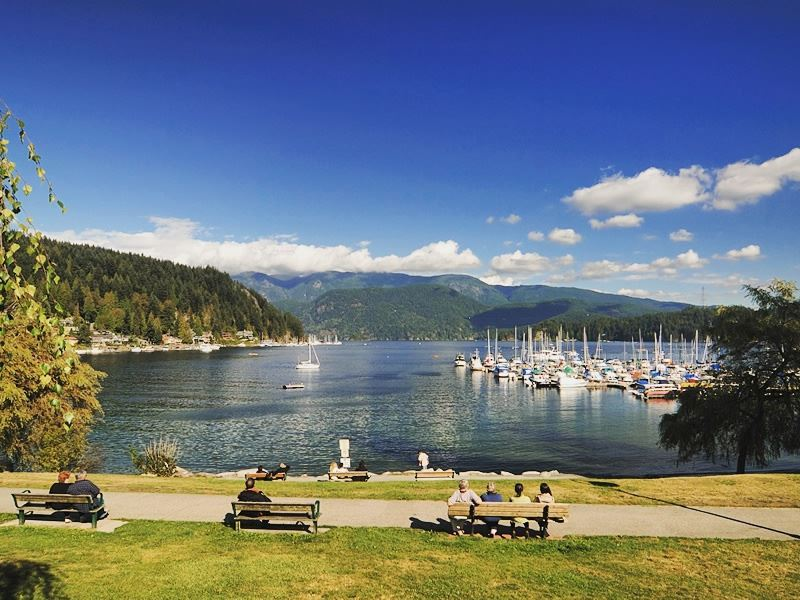 panorama park deep cove north vancouver