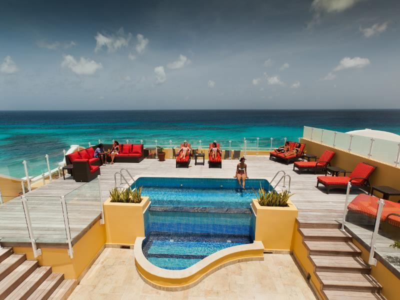 panorama roof deck bar at ocean two resort  residences