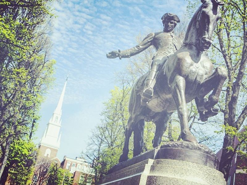 paul revere monument boston