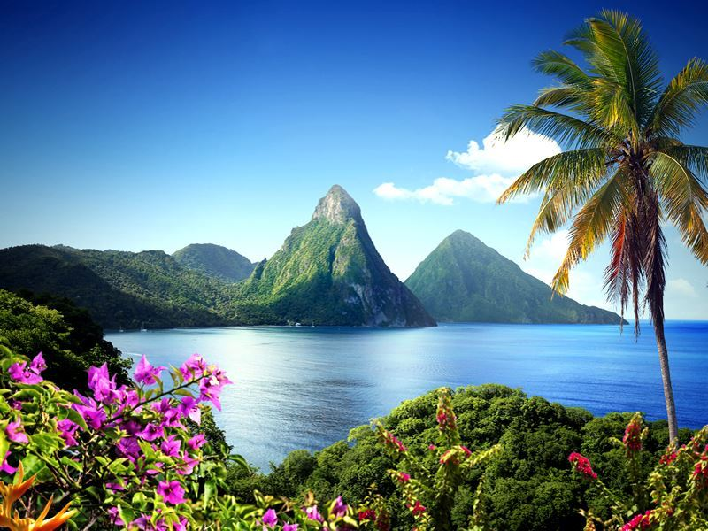 Pitons, St Lucia