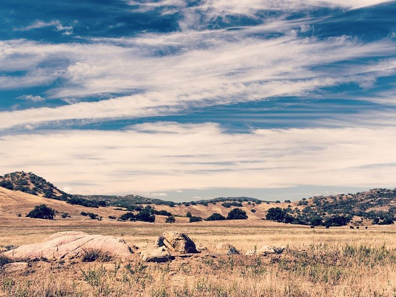 prairies outside of julian california