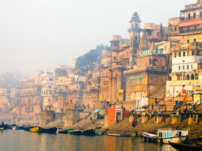 river ganges at varanasi
