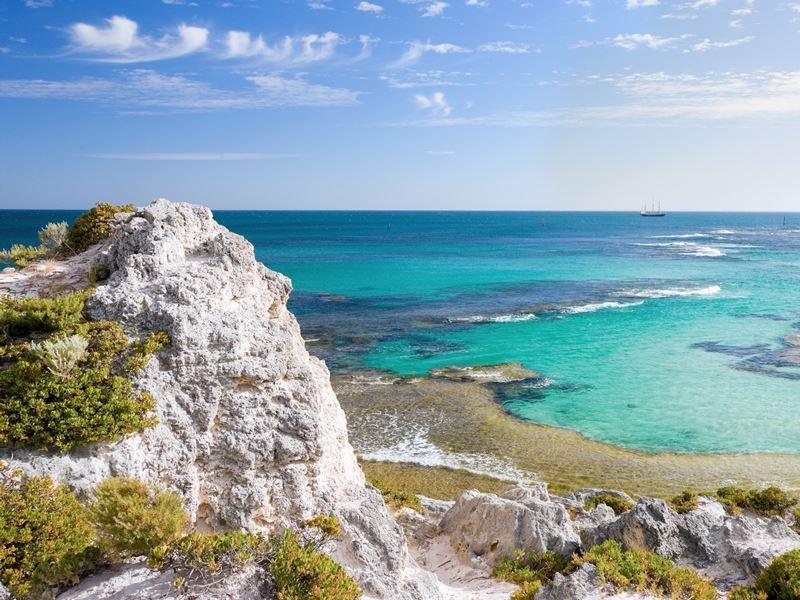 scenic view rottnest island
