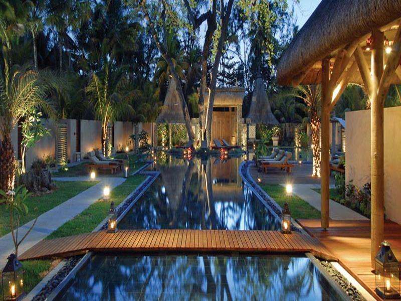 Spa treatment rooms at Shandrani Resort & Spa