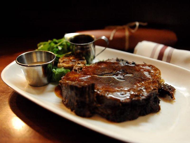 steak at charcut calgary