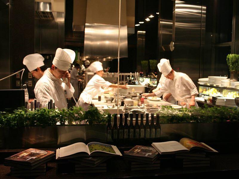 terra restaurant kitchen st helena