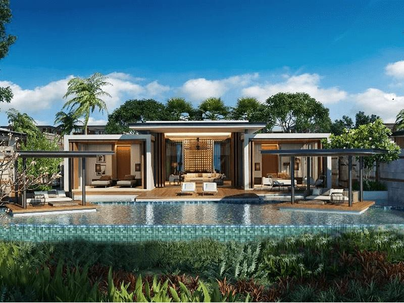 the danna langkawi one bedroom villa artist impression