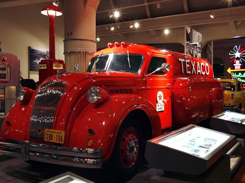 the henry ford 1939 dodge airflow tank truck