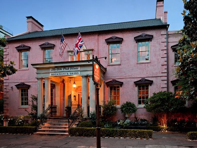 the olde pink house savannah