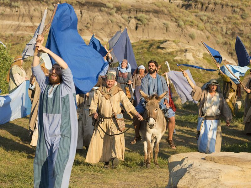 the passion play in drumheller