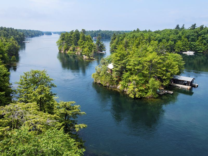 thousand islands region ontario and new york state
