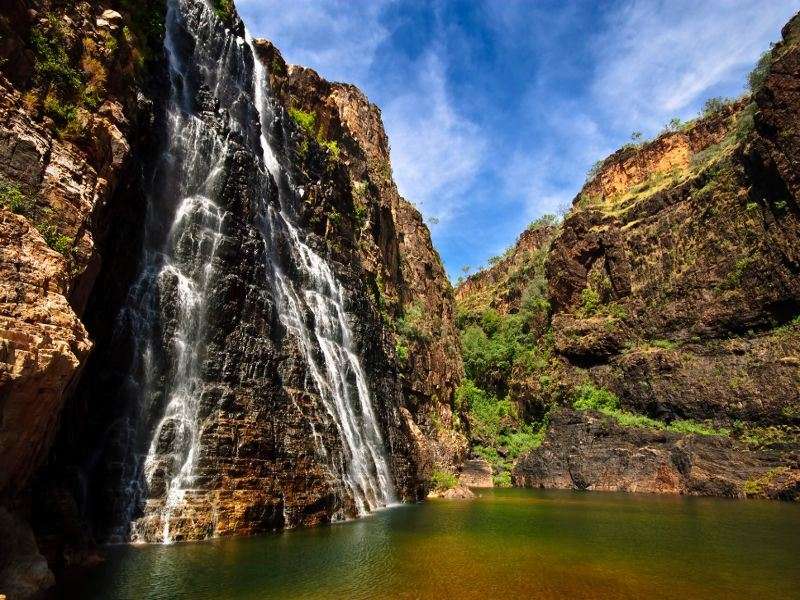 twin falls kakadu national park