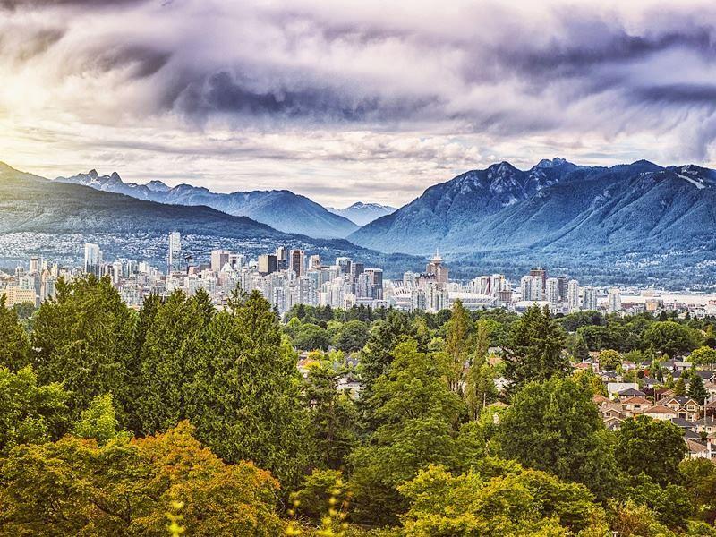 vancouver city skyline