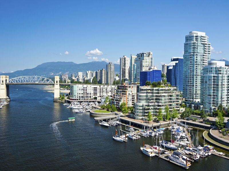 vancouver in summer british columbia