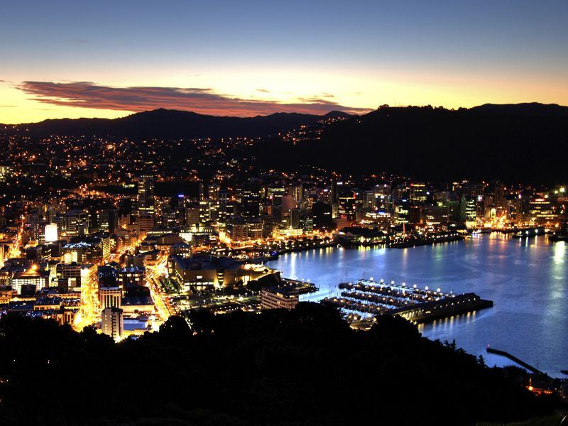 view from mount victoria over wellington