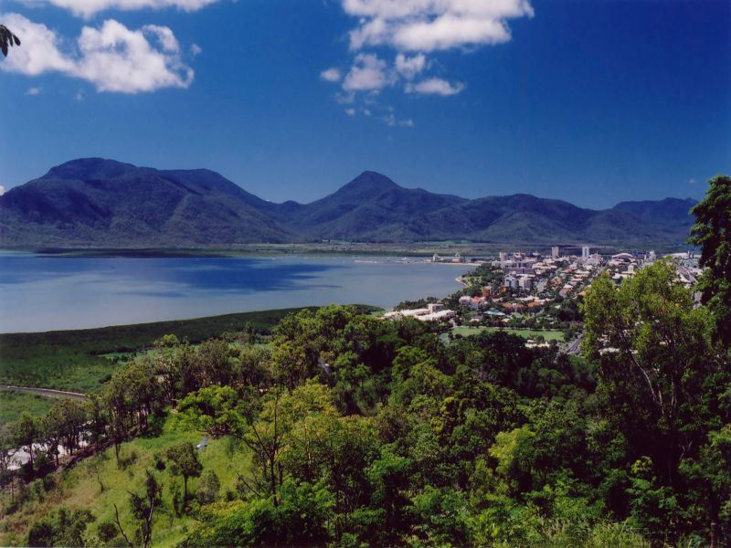 view of cairns queensland