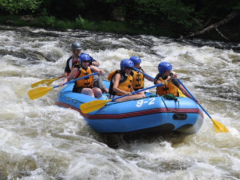 white water rafting with elc new hampshire