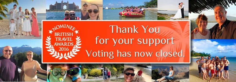 British Travel Awards - Voting Closed