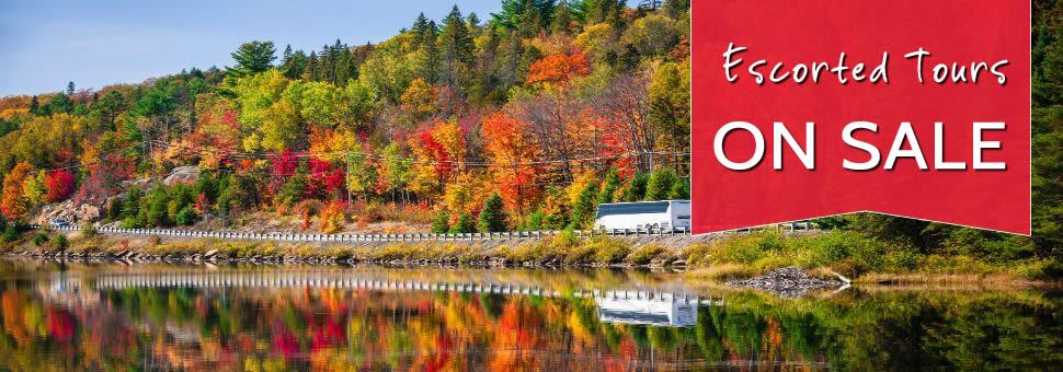 Canada Escorted Tours sale