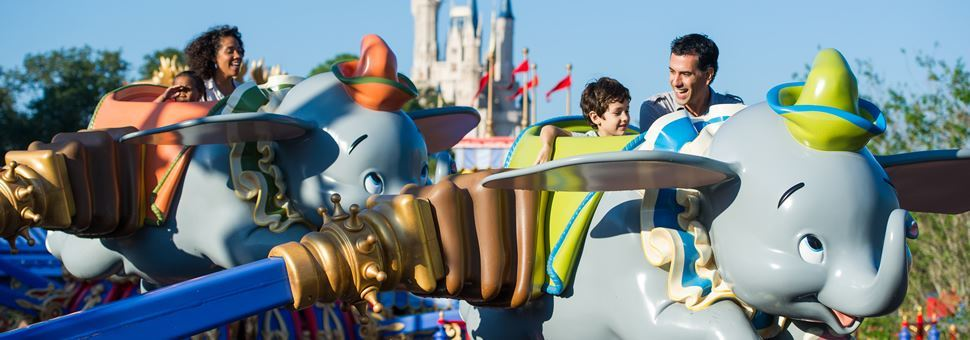 Dumbo Flying Elephant ride