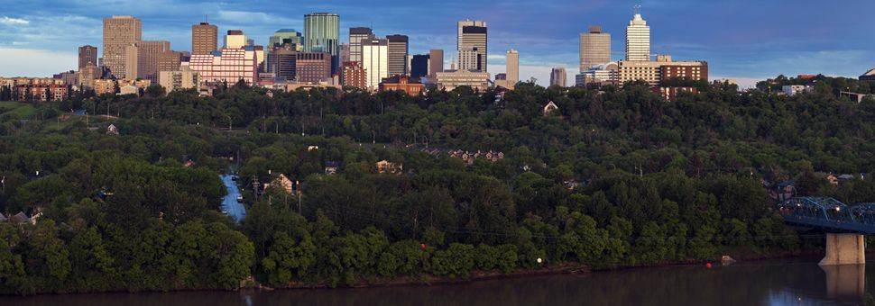 Panorama of Edmonton, Alberta